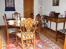Dining Room at Wych Elm B&B in Danbury, Chelmsford, Essex